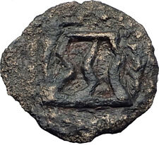 HEROD I the GREAT 40BC Jerusalem Authentic Ancient BIBLICAL Greek Coin i64175