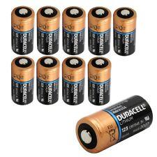 10x Duracell 3v batería de litio 123 - 1400mah-dl123a/cr123a/cr17345