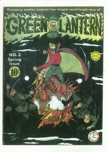 Green Lantern #3 RARE GOLDEN AGE GREEN LANTERN 1942 COVERLESS & INCOMPLETE(0.1)