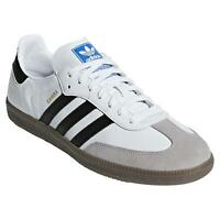 adidas ORIGINALS MEN'S SAMBA OG TRAINERS SHOES SNEAKERS CASUAL WHITE RETRO NEW