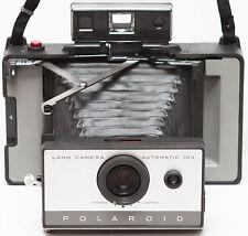 Vintage Polaroid 103 Instant Film Folding Land Camera 1960s Fully Operational