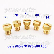 5mm Replacement Carburetor Jets #65 70 75 80 85 For Tomos A35 Targa LX Sprint
