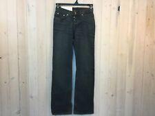 NWT Helmut Lang Women's Size 26 Vintage Dark Classic Low Waist Boot Cut Jeans