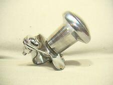 vintage style polished aluminum srteering wheel suicide knob spinner brodie