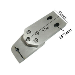 1xPuncher Machine Guide Fixed Plate Bracket Holder Stainless Steel Fixture Clamp