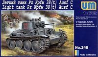 UniModels — Pz.Kpfw 38(t) Ausf. C — Plastic model kit 1:72 Scale #340