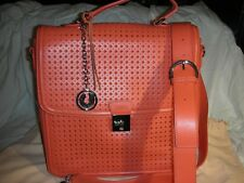 Charles Jourdan Paris  leaser cut-out cross body/ messenger bag/ briefcase