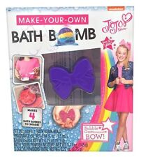 Build Your Own Bath Bomb Kit - JoJo Siwa Girls Fun Bath Time Soap Great Gift Nib