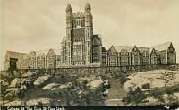 Thaddeus Wilkerson College New York City Real Photo Postcard United States RPPC