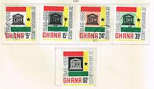 Ghana UNESCO 20 Ann set 1966