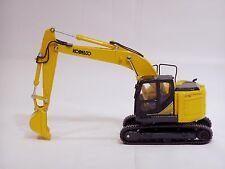 """Kobelco Sk260Srlc-3 Excavator - """"Yellow"""" - 1/43 - Mib - Brand New"""