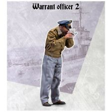 Scale 75 War Front U-Boat Warrant Officer (2) WW2 1/35th Unpainted Resin Kit