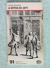 La bottega del caffè di Carlo Goldoni Collezione di teatro 91 Ed.Einaudi 1974