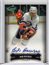 BOB BOURNE 06/07 Parkhurst Auto Autograph #19 New York Islanders Hard Signed