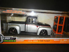 Jada Ford F100 1956 Just Trucks Matt Black and Silver 1/24 Paint Defect on roof