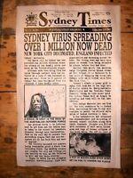 "(279) NOVELTY POSTER HALLOWEEN ZOMBIE WALKING DEAD VIRUS SYDNEY AUSTRALIA 11x17"""