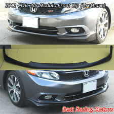 Modulo Style Front Bumper Lip (Urethane) Fits 2012 Honda Civic 4dr