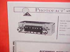 1966 KAISER JEEP WRANGLER CJ-5 6 JEEPSTER COMMANDO TRUCK AM RADIO SERVICE MANUAL