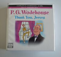 Thank You, Jeeves: by P.G. Wodehouse - Unabridged Audiobook - 6CDs