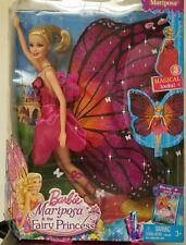 Barbie Mariposa and The Fairy Princess Doll 2 Magical Looks