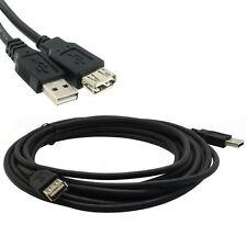 USB 2.0 Macho a Hembra Cable Extensor de datos de Extensión Plomo Cable Para Computadora