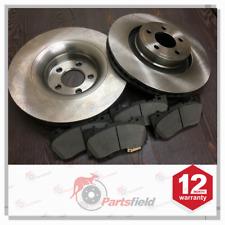 Pair x Front Disc Rotor & Ceramic Brake Pad fits Ford Mustang FM 2.3L GTDi 352mm