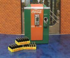 VINTAGE DANBURY MINT 3 Coca-Cola Cases with Coca-Cola Soda Machine  Diecast 1:24