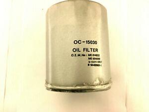 Oil Filter fits ISUZU TROOPER Mk1 2.2D Mann 5132110180 5132110240 8943257690 New