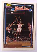 Michael Jordan Highlights Topps GOLD 1992/93 NBA Basketball Card #3