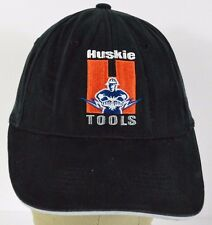 Black Huskie Tools Logo embroidered baseball hat cap adjustable strap