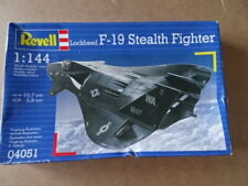 Revell 04051 Lockheed F-19 Stealth Fighter 1:144 Scale