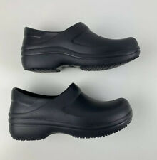 Crocs Locks Dual Comfort Clogs Black 6, Non Marking Nursing
