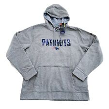 NWT Under Armour NFL New England Patriots Authentic Combine Hoodie Sweatshirt XL