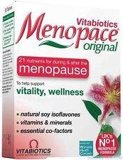 2x New Menopace Original 30 COMPRIMIDOS Vitaminas A D E c&b Hormonal Menopausia
