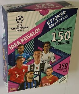 Champions League 2018-2019 Box 30 Packets Stickers Topps