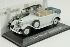 Mercedes-Benz 770 Grand Convertible F W07 1932 Gray 1:43 ixo altaya Collection