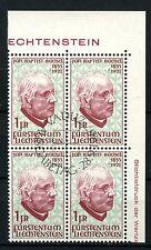 Liechtenstein 1967 SG#475 J.B. Buchel Cto Used Block #A50808