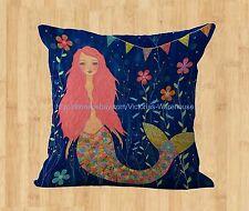 US Seller-inexpensive decorative pillows home decor mermaid cushion cover