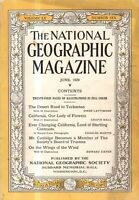 1929 National Geographic July - Big Insect Issue; Moths; Newfoundland Seal Hunt