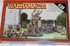 Juegos taller Warhammer Skaven gritando Bell Nuevo Y En Caja Nueva en caja de metal fuera de fantasía