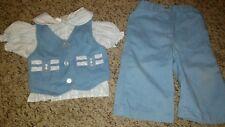 Vintage 3 Piece Baby Suit 12 months