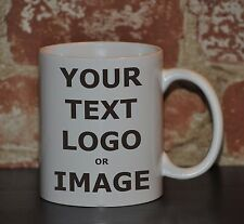 Personalized Coffee Mug Custom Photo Text Logo Name Printed Gift Ceramic Cup