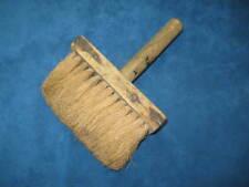 Vtg/Antique Large Aged WOOD HANDLE PAINT BRUSH...Antique Decor...Rare