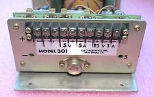 Electrostatics Inc, Power supply Output 15V, +/- 5v