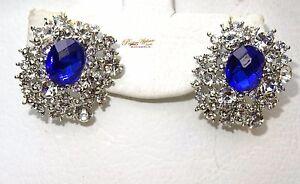 Beautiful  Purple Blue Red Stud Earring Jewellery Gift For Ladies