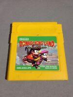 Donkey Kong Land Gameboy Nintendo GB Japan