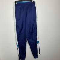 Nike Womens S Blue/White Athletic Track Pants