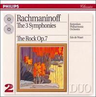 Rachmaninov: The 3 Symphonies; The Rock (CD, Feb-1994, 2 Discs, Philips)