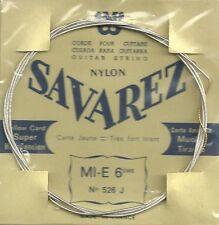 SAVAREZ Corde unité Mi grave - Filé métal argenté - carte JAUNE - Très Fort 526J