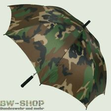 Regenschirm flecktarn Bundeswehr Jagd Jäger Angler tarnfarben BW Regenschutz NEU